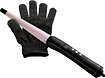 Remington - Ultimate Ceramic Pearl Styling Wand - Black
