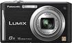 Panasonic - Lumix FH24 16.1-Megapixel Digital Camera - Black