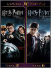 Harry Potter and the Order of the Phoenix/Harry Potter and the Half-Blood Prince [2 Discs] - DVD