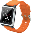 iWatchz - Q Collection Wrist Strap for iPod Nano 6G - Orange