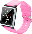 iWatchz - Q Series Watchband for 6th-Generation Apple iPod nano - Pink