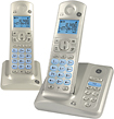 GE - DECT 60 Expandable Cordless Phone System with Digital Answering System - Pearl
