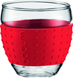 Bodum - Pavina 3-Oz Glasses Set - Red