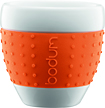 Bodum - Pavina 3-Oz Porcelain Mug - Orange