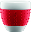 Bodum - Pavina 3-Oz Porcelain Mug - Red