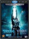 Tron: Legacy 3D/Original Classic Blu ray 3D/Blu ray Review photo