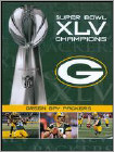 NFL: Super Bowl XLV Champions - Green Bay Packers - DVD