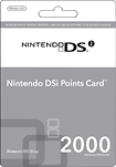Nintendo Nintendo Points Card for Nintendo DSi or DSi XL 1999