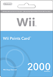 Nintendo Nintendo Points Card for Nintendo Wii 1999