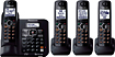 Panasonic - Cordless Phone - 190 GHz - DECT 60