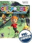Kidz Sports: Crazy Golf - PRE-OWNED - Nintendo Wii