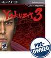 Yakuza 3 - PRE-OWNED - PlayStation 3