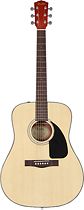 Fender - CD-60 Dreadnought Guitar - Natural