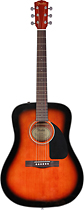 Fender - CD-60 Dreadnought Guitar - Sunburst