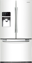 Samsung 290 Cu Ft French Door Refrigerator with Thru the Door Ice