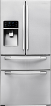 Samsung 255 Cu Ft French Door Refrigerator with Thru the Door Ice