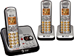 AT&T - DECT 60 Cordless Phone System with Digital Answering System