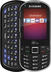 Virgin Mobile - Samsung Restore No-Contract Mobile Phone - Black