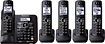 Panasonic - KX-TG6645B Cordless Phone - DECT