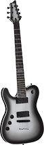 Schecter - Chris Garza Signature 6-String Full-Size Electric Guitar - Silver Burst