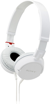 Sony - ZX Series Stereo Headphone - White