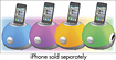 iHome - LED Color-Changing Stereo System for Apple iPod and iPhone - White