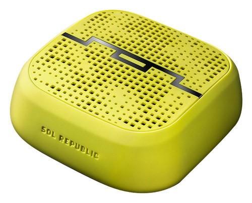 SOL Republic - Punk Indoor/Outdoor Bluetooth Speaker - Lemon Lime