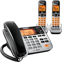 Uniden - DECT 6.0 Expandable Phone System with Digital Answering System