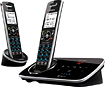 Uniden - D3280-2 DECT 60 Bluetooth Cordless Phone System with Digital Answering System