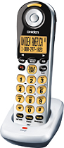 Uniden - DECT 60 Cordless Expansion Handset for Select Uniden Expandable Phone Systems