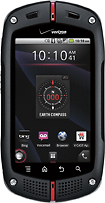 Casio - Commando Mobile Phone - Black (Verizon Wireless)