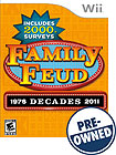 Family Feud: Decades - PRE-OWNED - Nintendo Wii