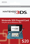 Nintendo - Nintendo 3DS Cash Card ($20)