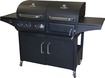 Char-Broil - Combo Charcoal/Gas Grill - Black