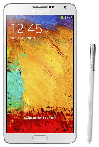 Samsung - Galaxy Note 3 4G with 32GB Memory Cell Phone (Unlocked) - White