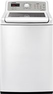 Samsung - 4.7 Cu. Ft. 11-Cycle High-Efficiency Top-Loading Washer - White