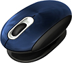 Prestige - Smartfish Whirl Mini Wireless Laser Mouse - Metallic Blue
