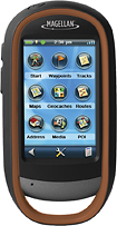 Magellan eXplorist 710 GPS - Metallic Gray/Black/Copper Brown