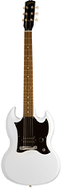 Gibson - SG Melody Maker 6-String Full-Size Electric Guitar - Satin White
