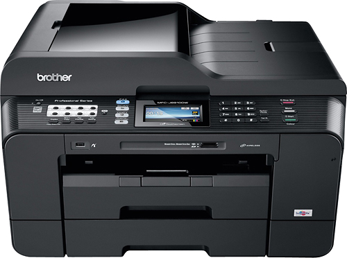 Brother - Network-Ready Wireless All-In-One Printer