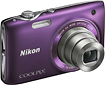 Nikon - Coolpix S3100 140-Megapixel Digital Camera - Purple