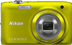 Nikon - Coolpix S3100 140-Megapixel Digital Camera - Yellow