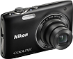 Nikon - Coolpix S3100 140-Megapixel Digital Camera - Black