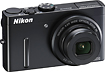 Nikon - Coolpix P300 122-Megapixel Digital Camera - Black