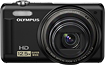 Olympus - VR-320 140-Megapixel Digital Camera - Black