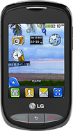 NET10 - LG 800G No-Contract Mobile Phone - Black