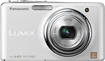 Panasonic - Lumix FX78 121-Megapixel Digital Camera - White