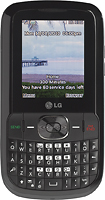 NET10 - LG 500G No-Contract Mobile Phone - Black