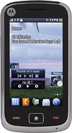 NET10 - Motorola 124G No-Contract Mobile Phone - Black