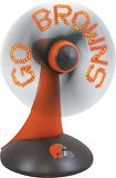 Champion Treasures - Cleveland Browns Light-Up Desk Fan